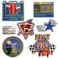 Die Struck Brass Soft Enamel Lapel Pins 3/4